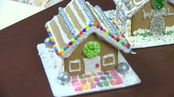 Ava Marie's gingerbread house