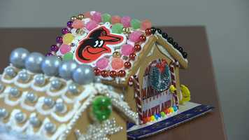 Jason Newton gingerbread house