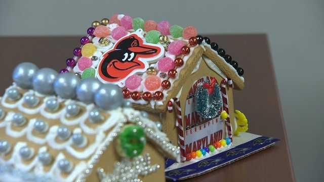 Jason Newton gingerbread house