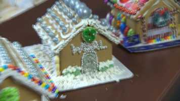 Sarah Caldwell's gingerbread house