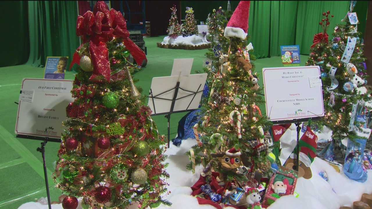 The annual Festival of Trees at Kennedy Krieger Institute is one of the biggest holiday displays on the East Coast.
