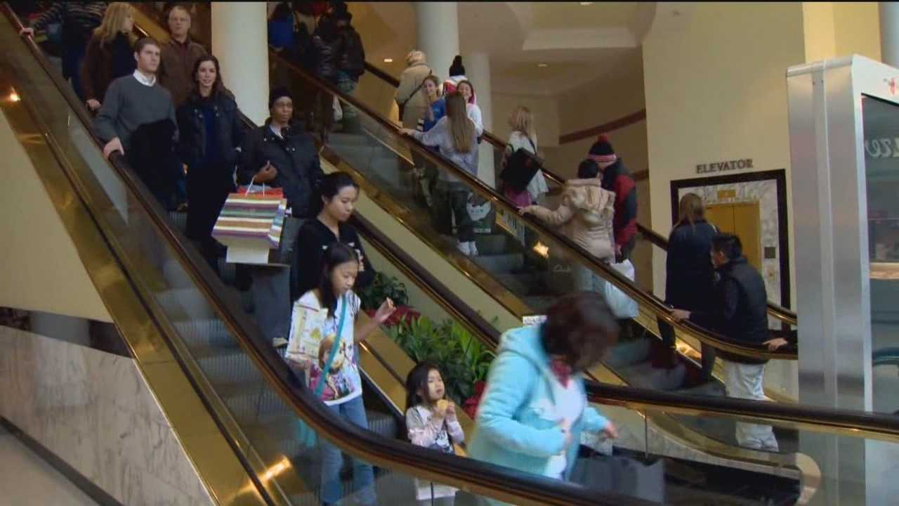 Friday was a busy day at stores across the state as Black Friday shoppers went hunting for the best deals. But the question this year is if all those stores that opened on Thanksgiving slowed down the Friday rush. Lowell Melser reports from Towson Town Center.