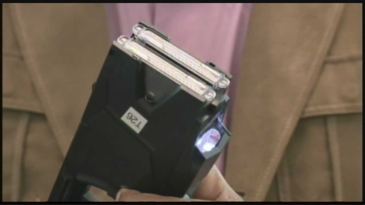 Baltimore County police plan to test camera-equipped Tasers as part of a pilot program to explore the usage of body cameras on officers.