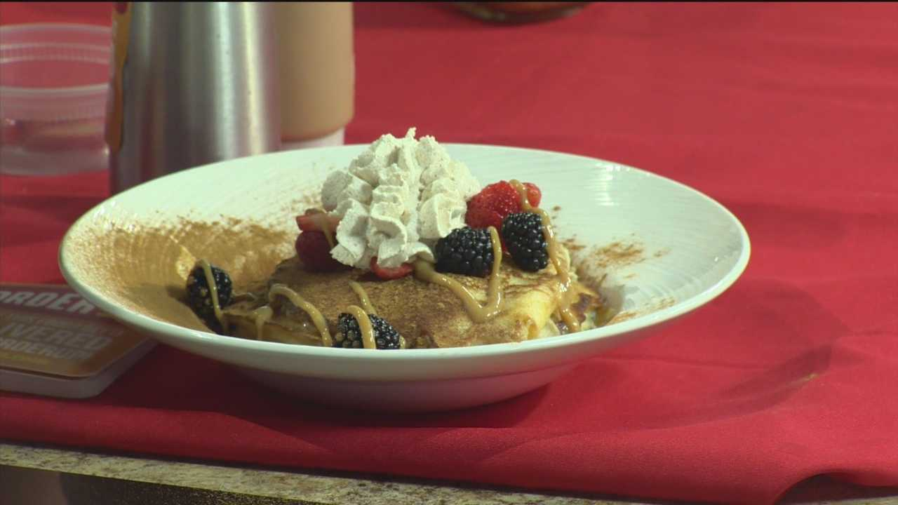 Blue Agave shares its recipe for Mixed Berry Tres Leches Pancakes.