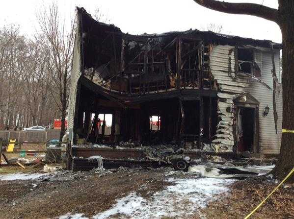 Six people, three on a jet and three in a house, were killed when the aircraft crashed into the Montgomery County home.
