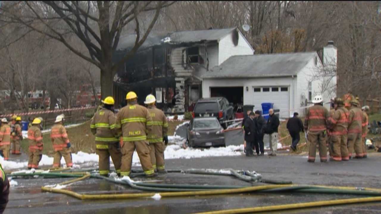 A plane crash in Montgomery County killed three people on board the plane and three people in a house Monday.