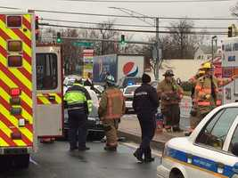 Baltimore County police are investigating a fatal police involved-crash in Middle River.