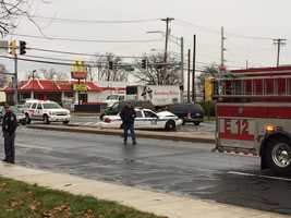 The crash was reported around 11:10 a.m. Tuesday at Eastern Boulevard near Kingston Road.