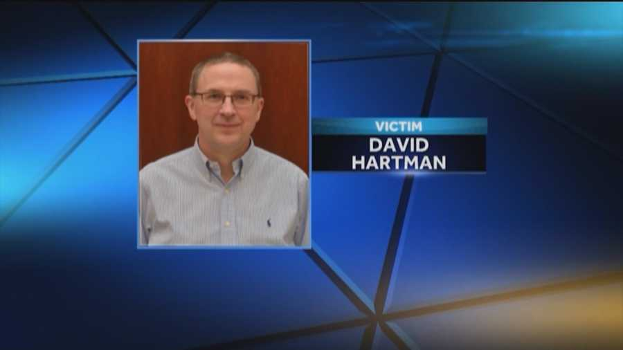 David Hartman, 52, was a passenger in the plane who was killed