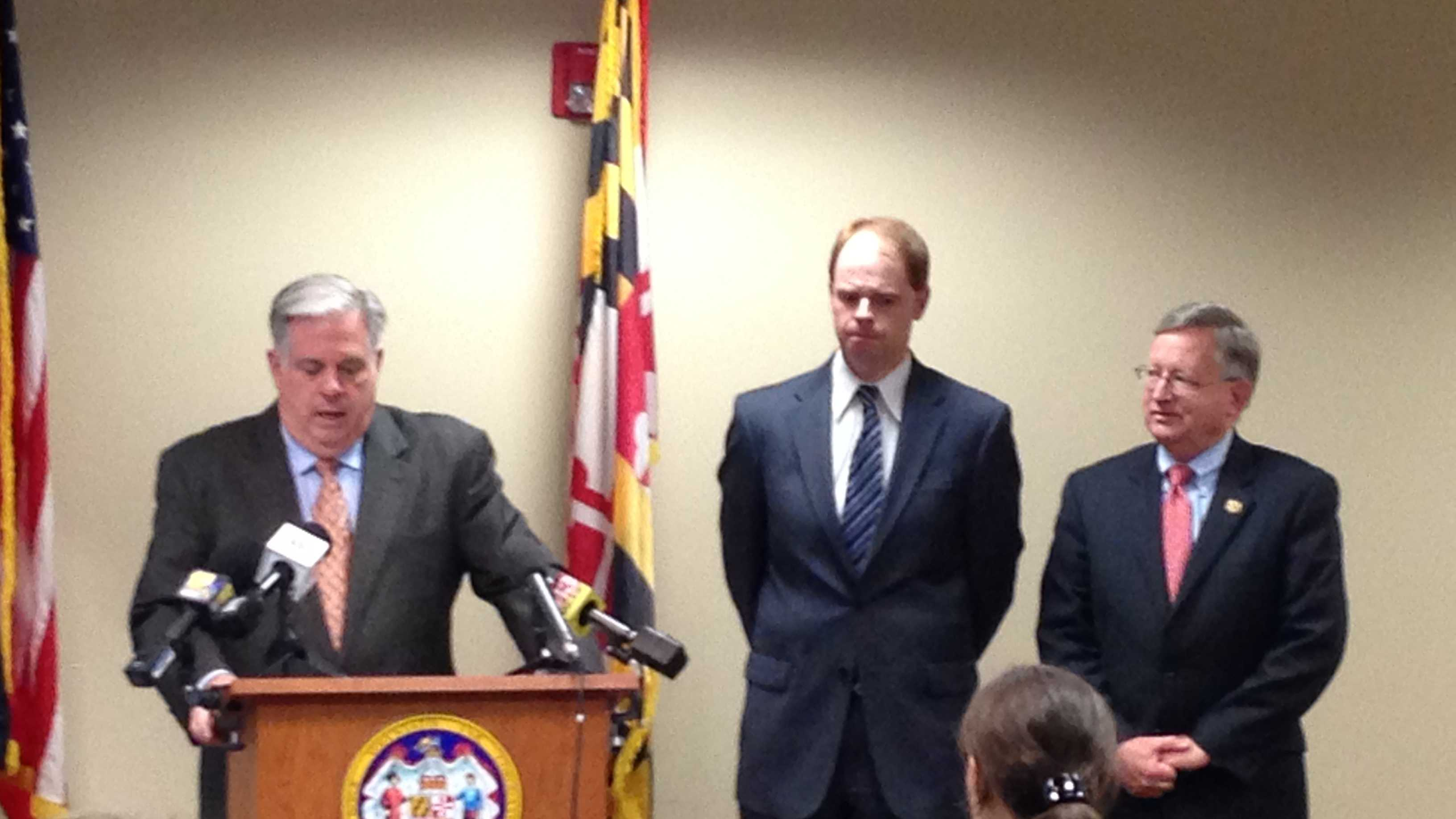 Gov.-elect Larry Hogan announces chief of staff and legislative liaison