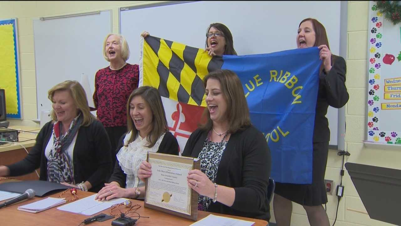 Six Maryland schools have earned state blue ribbons and will get the chance to apply for national honors.