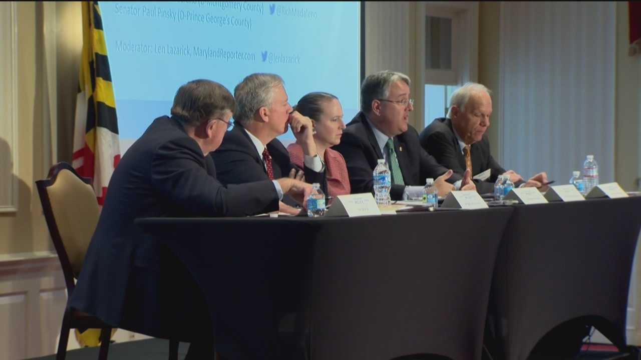 There was a daylong forum on the future of public education in Maryland in Annapolis on Monday.
