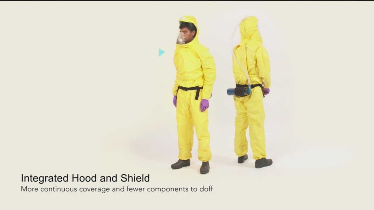 Innovators at Johns Hopkins University are working on building a protective suit to better treat patients suffering from Ebola.