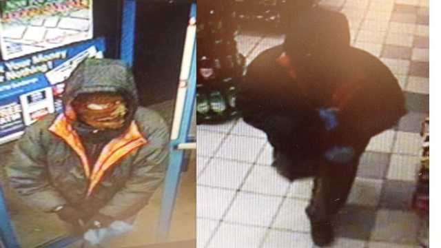Sheriff's deputies are looking for this man in connection with Dec. 5 and Dec. 18 robberies at a Royal Farms in Chestertown.