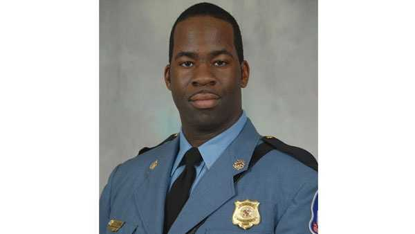 Officials said Cpl. Terrence Benn was awarded the Outstanding Community Service Award in 2014.