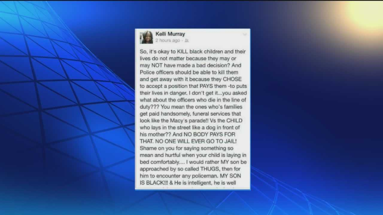 A social media post by a local 911 dispatcher has drawn criticism in the wake of the fatal shootings of two New York police officers.
