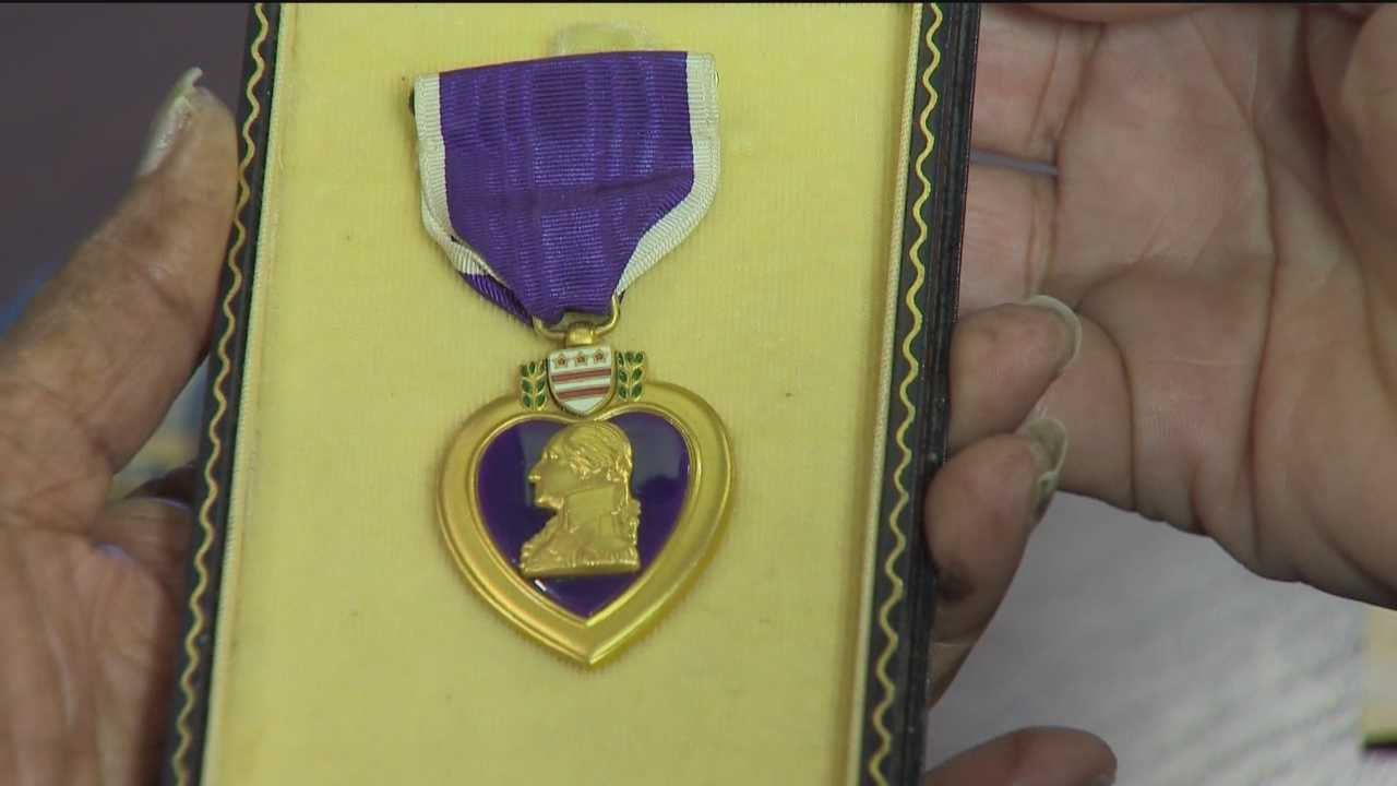 A Purple Heart found by a local man decades ago is returned to its rightful owner.
