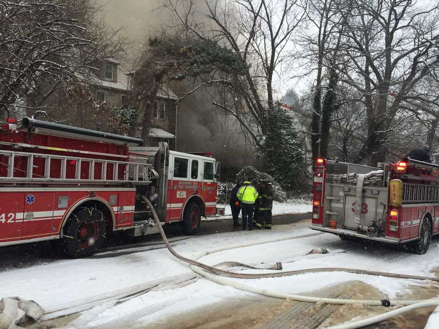 Fire Capt. Roman Clark said the home fully collapsed.