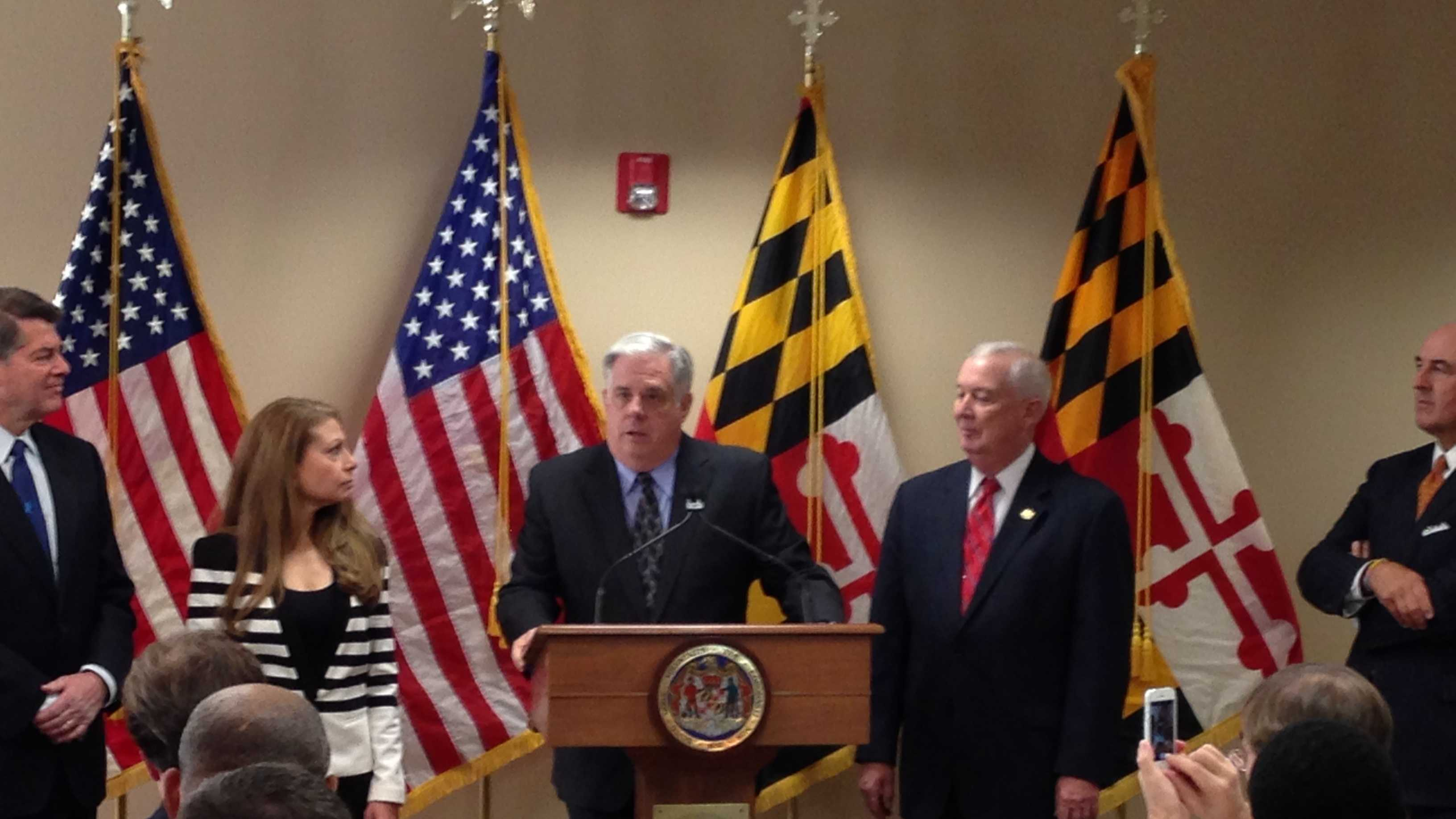 Gov.-elect Larry Hogan announces four more cabinet choices.