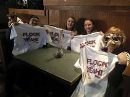 Fans are pumped t join the Flock Party!