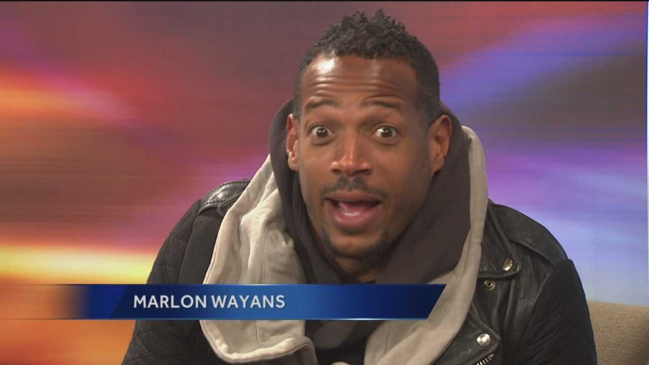 Funnyman Marlon Wayans, who will be doing standup at the Baltimore Comedy Factory all weekend, makes Lisa and Sarah nervous with laughter as he talks about his show and many other upcoming ventures.