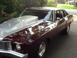 Investigators say a 1971 Chevrolet Monte Carlo was stolen from the 300 block of Fountain Green Road in Bel Air sometime between 9 a.m. and 3:30 p.m. on Dec. 12, 2014.