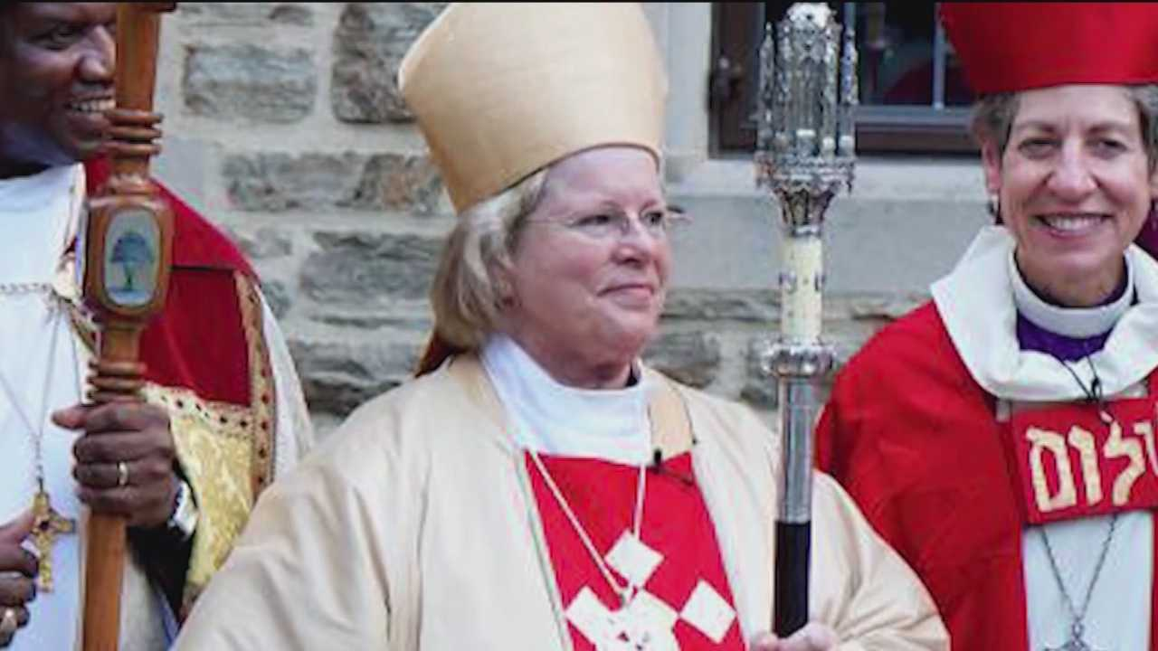 The Episcopal bishop charged in the death of bicyclist Thomas Palermo admitted in court Monday that she has an alcohol problem.