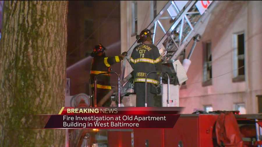 The fire broke out just after 1 a.m. in the 1400 block of Division Street.