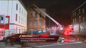 At 6:30 a.m., about 5 ½ hours after the blaze began, water was still being put on hot spots.