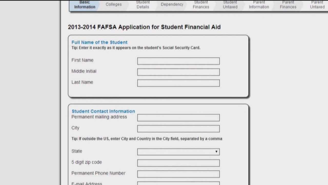 The Free Application for Federal Student Aid deadline is just six weeks away for Maryland high school seniors hoping to cash in on federal loans and grants for college.