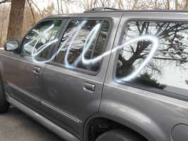 Police do not believe the vandalism to be a hate crime or gang-related.