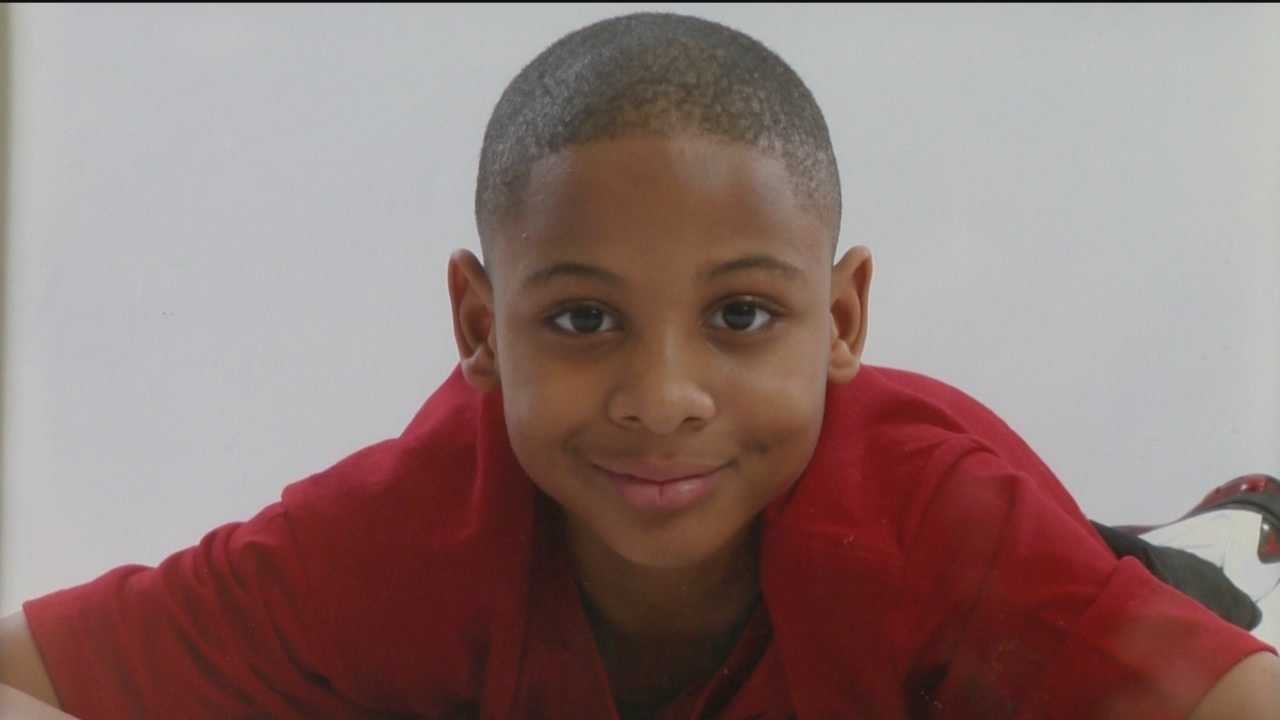 Kyron Aikens, 13, of Baltimore, died Monday night after a water rescue team pulled him from an icy pond in the Lansdowne.