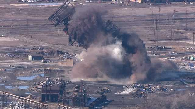 L Furnace Sparrows Point Steel mill furnace at ...