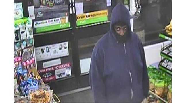 The FBI is searching for this man in connection with several convenience store robberies in Baltimore and Baltimore County.
