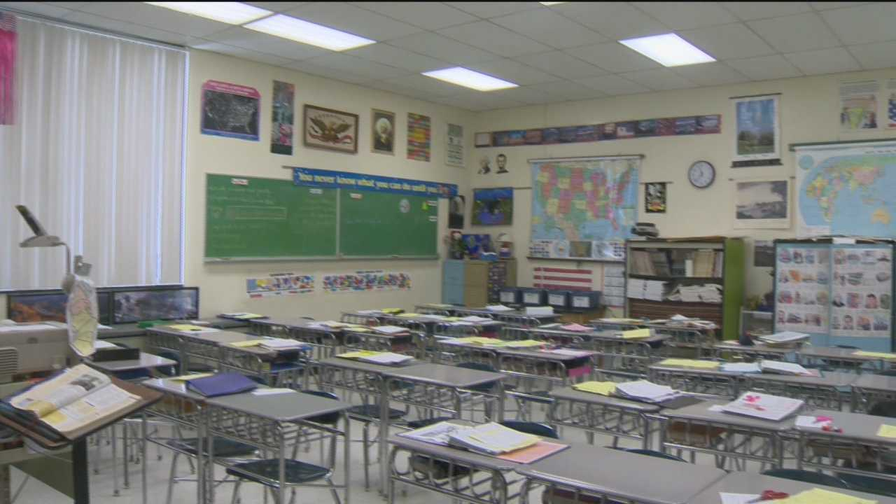 Schools explore options as wintry weather impacts lesson time.