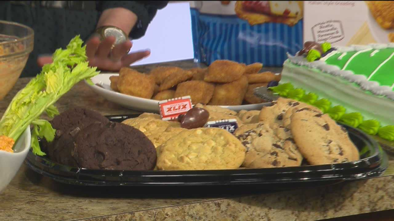 BJ's Wholesale Club Kelly Trizzno shows some food ideas for you to eat on Super Bowl Sunday.