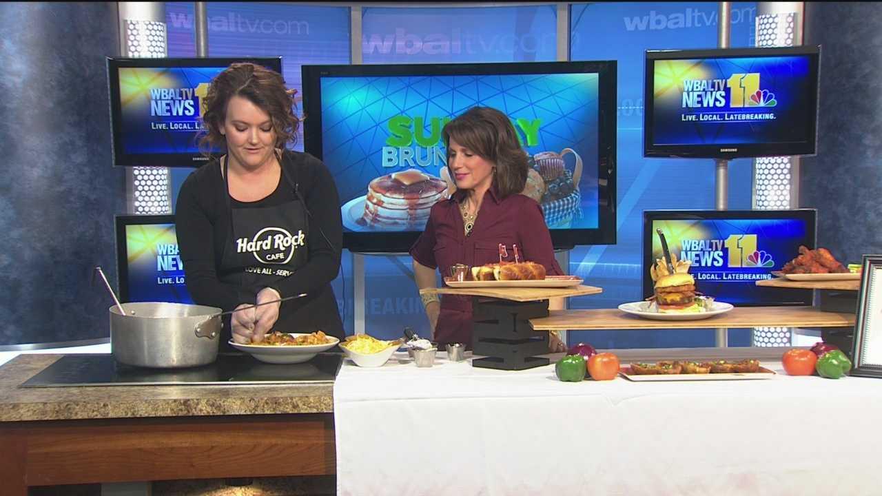 Megan Welsh shares her favorite dishes from Hard Rock Cafe.