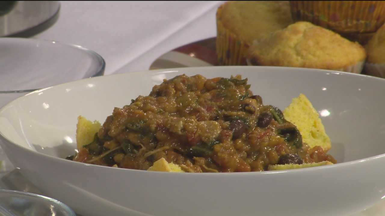 Chef Egg shows how to make cold-weather comfort foods.