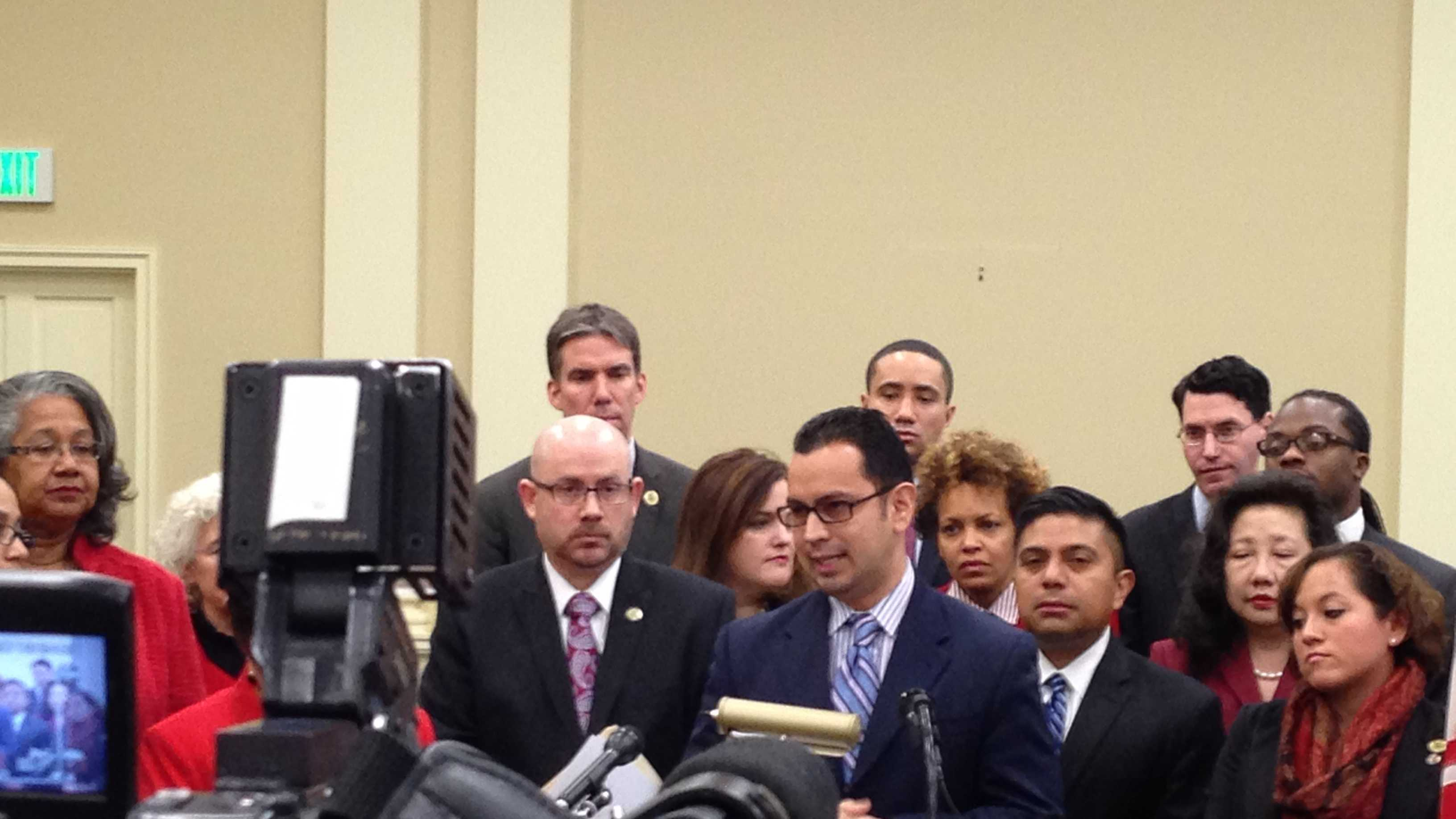 Members of a new Maryland Latino Legislative Caucus want to give Latinos a greater voice in Annapolis.