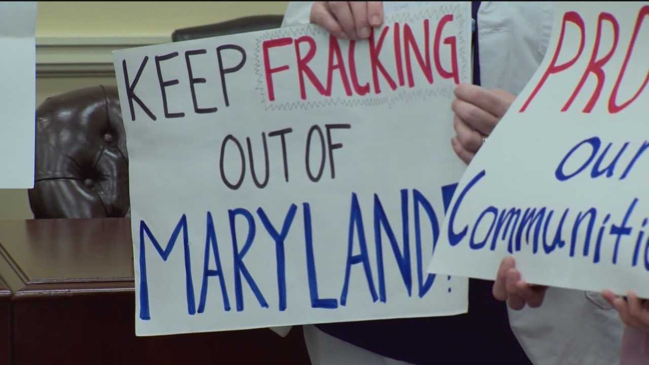 Opponents of fracking in Maryland have proposed a bill that would impose an eight-year moratorium.