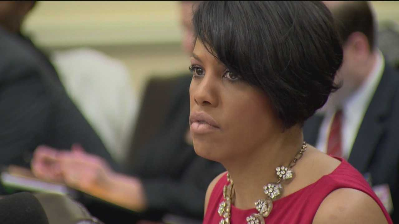 Baltimore Mayor Stephanie Rawlings-Blake revealed details of the city's legislative wish list Friday in Annapolis.