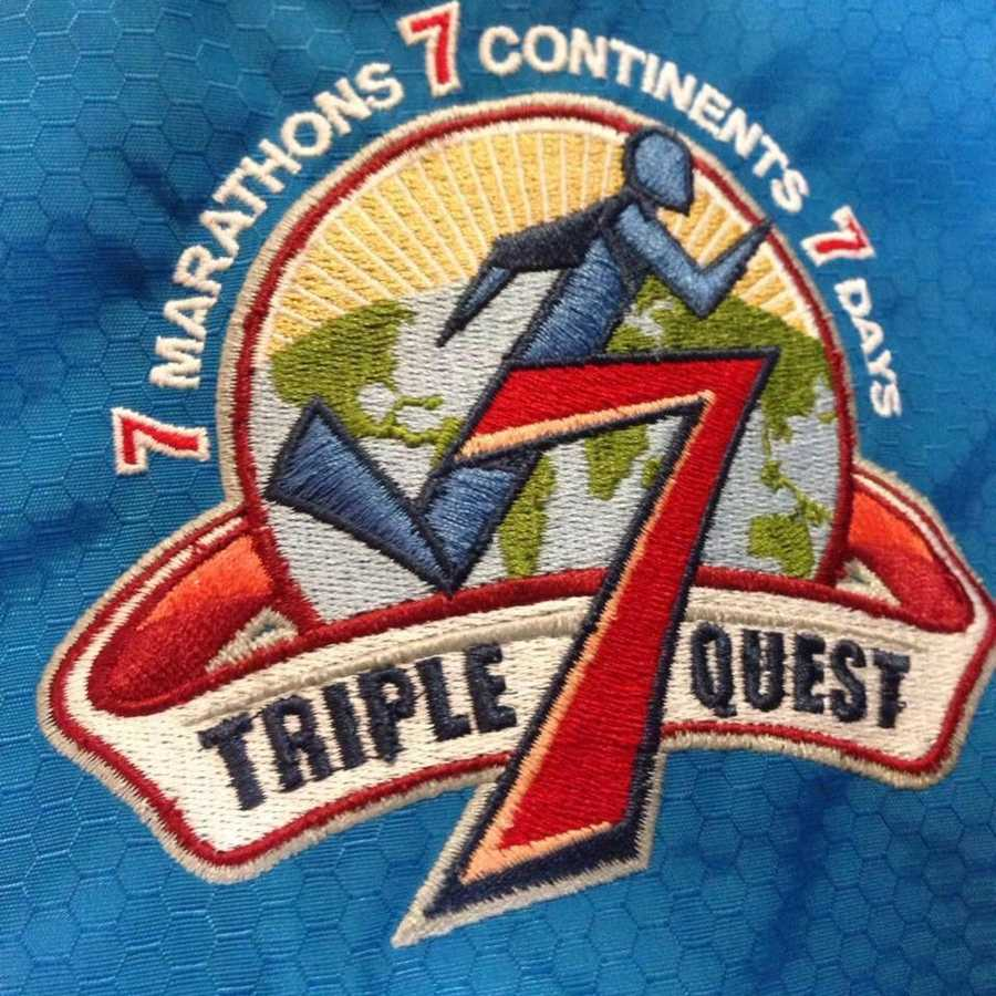 The Triple 7 Quest is a first-of-its-kind event. Runners around the globe compete over seven days in seven official marathons or half marathons on seven continents. GoFundMe page | Blog | Video