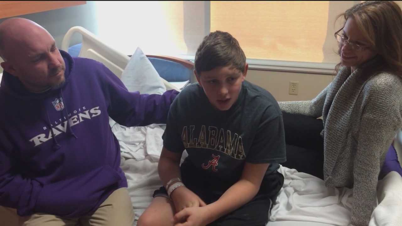 A New Oxford, Pennsylvania, boy is recovering from an accident with a pellet gun that's changed his family's perspective on life.