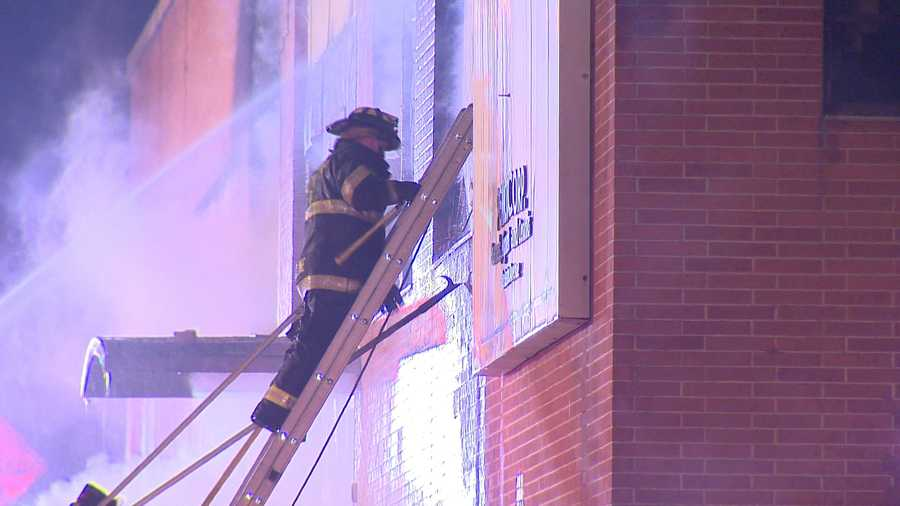 Crews were called to the old Pemco enamel plant in the 5600 block of Eastern Avenue around 6:20 p.m.