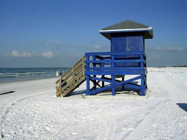 Siesta Beach in Siesta Key, Florida was named No. 1.