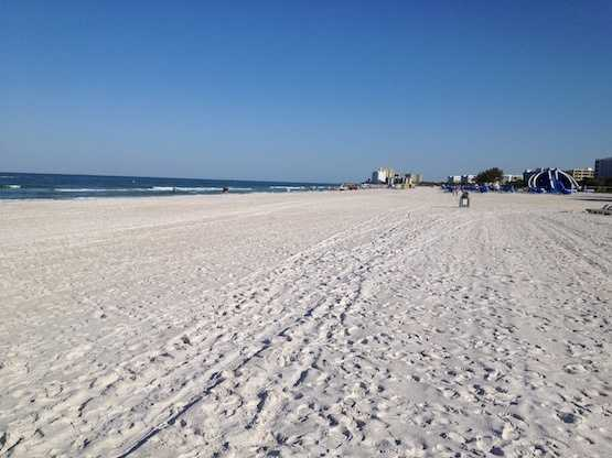 Taking the No. 2 spot is Saint Pete Beach in Saint Pete Beach, Florida.