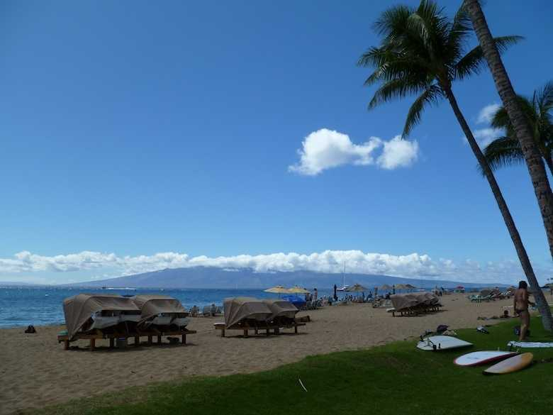 Ka'anapali Beach in Lahaina, Hawaii came at No. 3.