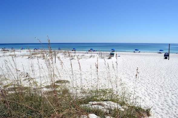 Pensacola Beach in Pensacola Beach, Florida comes in at No. 5.