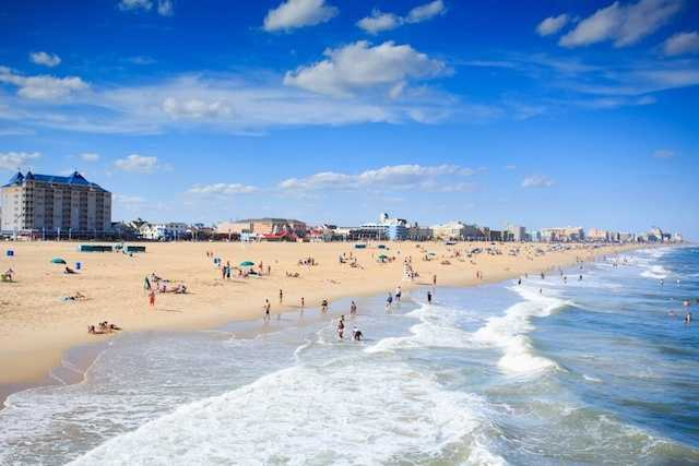 Ocean City Beach in Ocean City, Maryland made the cut coming in at No. 25.