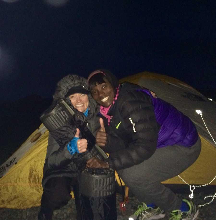Camping on Antarctica with Tee Morgan